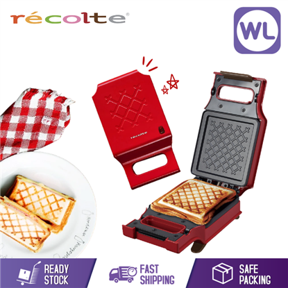 Picture of RECOLTE PRESS SANDWICH MAKER RPS-1(R)_RED