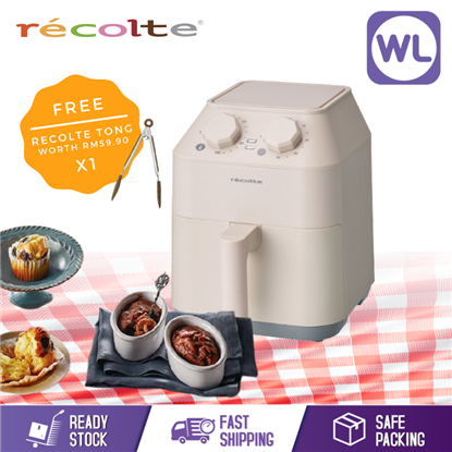 Picture of RECOLTE AIR FRYER OVEN RAO-1(W)_CREAM WHITE