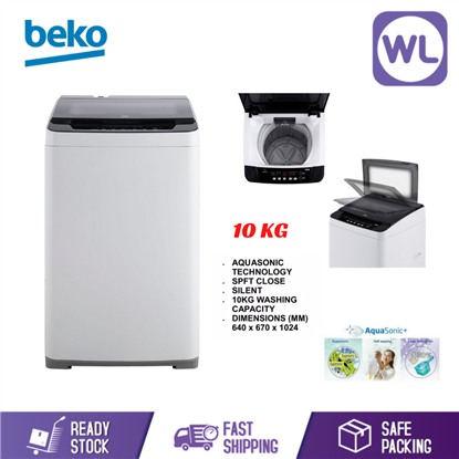 Picture of BEKO 10kg FREESTANDING WASHER BTU1008W