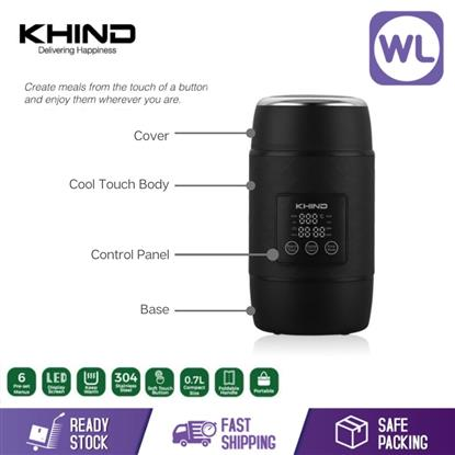 Picture of KHIND INTELIGENT MULTI COOKER MTK700