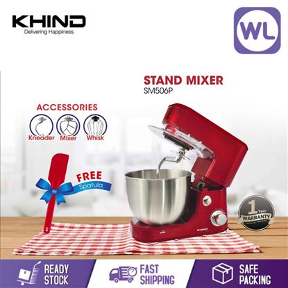 Picture of KHIND STAND MIXER SM506P