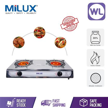 Picture of MILUX CERAMIC INFRA RED GAS STOVE MSS-8122IR