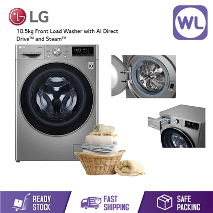 Picture of LG 10.5kg FRONT LOAD WASHER FV1450S4V