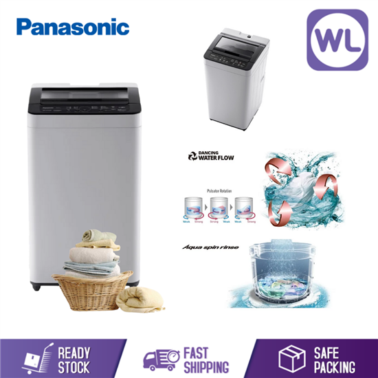 Picture of PANASONIC 8kg TOP LOAD WASHER NA-F80VB7HRT