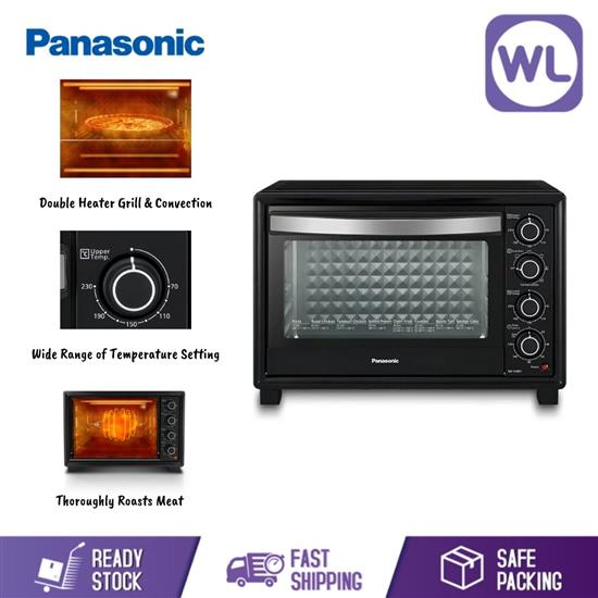 Picture of PANASONIC COMPACT ELECTRIC OVEN NB-H3801KSK (Double Heater Grill & Convection)