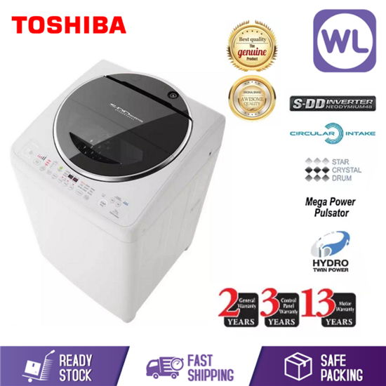 Picture of TOSHIBA 12kg SDD INVERTER WASHER AW-DC1300WM