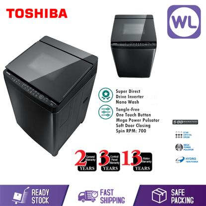 Picture of TOSHIBA 14kg SDD INVERTER NANO WASH WASHER AW-DG1500WM (KK)
