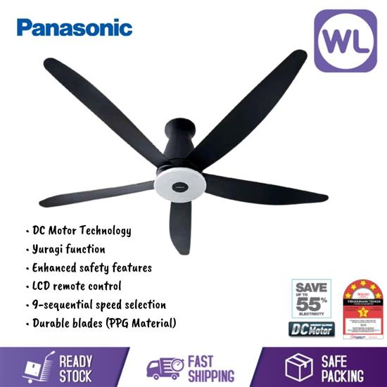 Picture of PANASONIC Wifi 5 BLADE CEILING FAN F-M15ECVBKSH