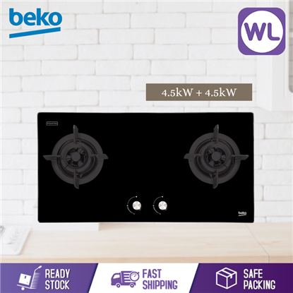 Picture of BEKO BUILT-IN HOB HISW 92225 SOB (Gas, 90cm)