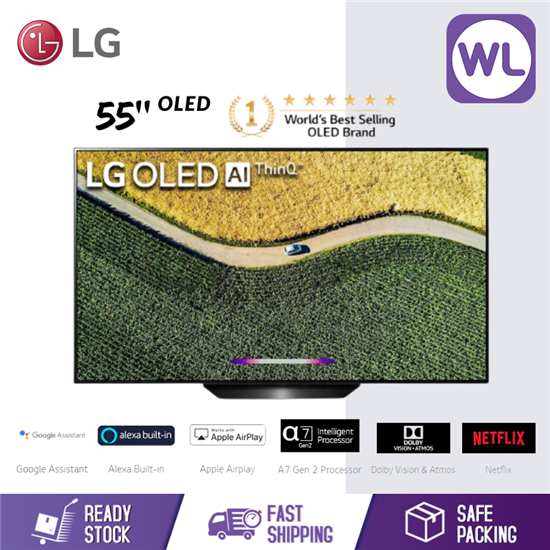 Picture of LG 55'' 4K SMART OLED TV OLED55B9PTA