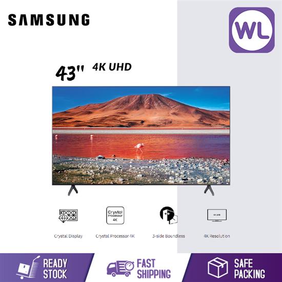 Picture of SAMSUNG 43'' 4K UHD SMART TV UA43TU7000KXXM