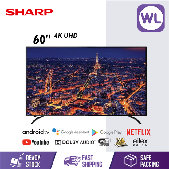 Picture of SHARP 60'' 4K UHD ANDROID TV 4TC60AL1X