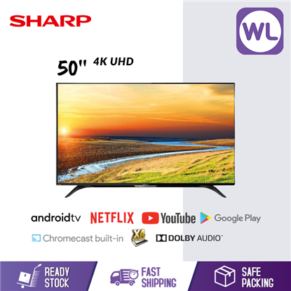 Picture of SHARP 50'' AQUOS 4K UHD ANDROID TV 4TC50BK1X
