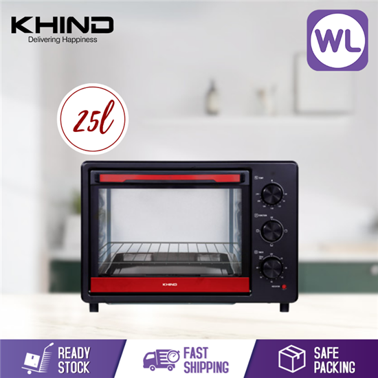Picture of KHIND 25L ELECTRIC OVEN OT25B
