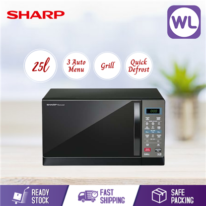 Picture of SHARP 25L MICROWAVE OVEN WITH GRILL R607EK