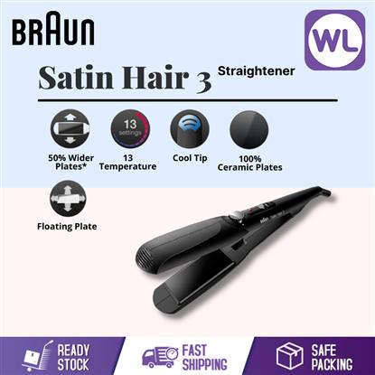 Picture of BRAUN SATIN HAIR 3 STRAIGHTENER ST310
