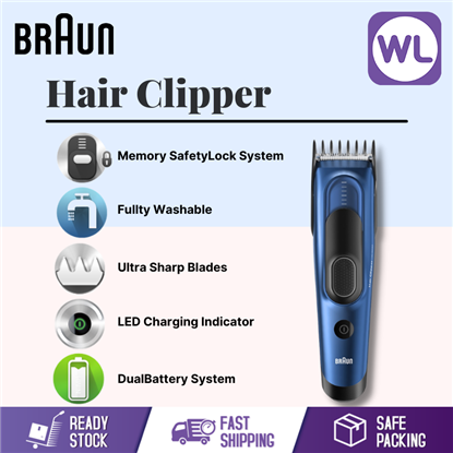 Picture of BRAUN HAIR CLIPPER HC5030