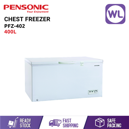 Picture of PENSONIC CHEST FREEZER PFZ-402 (400L/ WHITE)