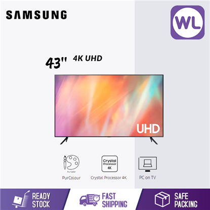 Picture of SAMSUNG 43'' 4K UHD SMART TV UA43AU7000KXXM