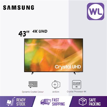 Picture of SAMSUNG 43'' 4K UHD SMART TV UA43AU8000KXXM