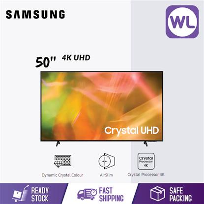 Picture of SAMSUNG 50'' 4K UHD SMART TV UA50AU8000KXXM