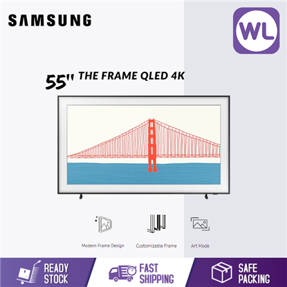 Picture of SAMSUNG 55'' The Frame QLED 4K SMART LIFESTYLE TV QA55LS03AAKXXM