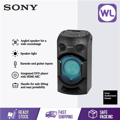 Picture of SONY HIGH POWER AUDIO SYSTEM MHC-V21D