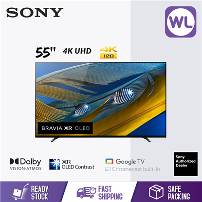 Picture of SONY 55'' BRAVIA XR 4K OLED GOOGLE TV XR-55A80J