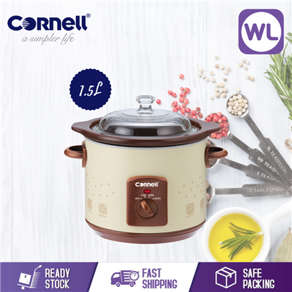 Picture of CORNELL 1.5L SLOW COOKER CSC-D15C