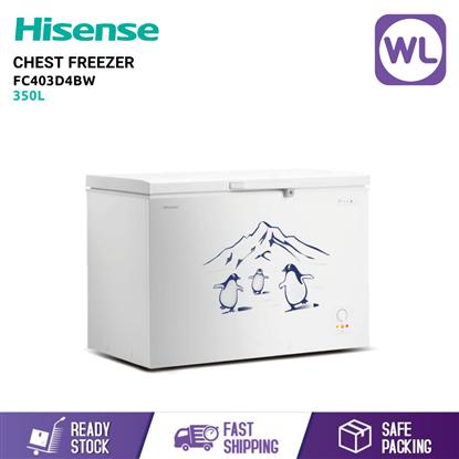 Picture of HISENSE CHEST FREEZER FC403D4BW (350L/ WHITE)