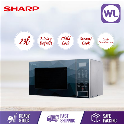 Picture of SHARP 23L MICROWAVE OVEN WITH GRILL R706EK