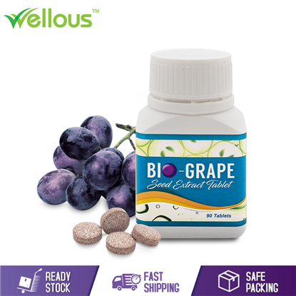 Picture of WELLOUS BIO-GRAPESEED THE POWERFUL ANTIOXIDANT RICH IN OPCS