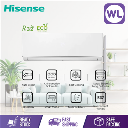 Picture of HISENSE AIR CONDITIONER STANDARD NON INVERTER 2.5HP AN25DBG