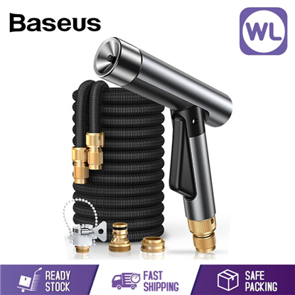 Picture of BASEUS WATER PRESSURE CAR WASH WATER GUN SPRAY NOZZLE WITH MAGIC TELESCOPIC WATER JET PIPE 15M