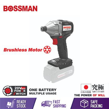 Picture of BOSSMAN 20V CORDLESS IMPACT SCREWDRIVER BRUSHLESS MOTOR BARE MACHINE BBIS-320M