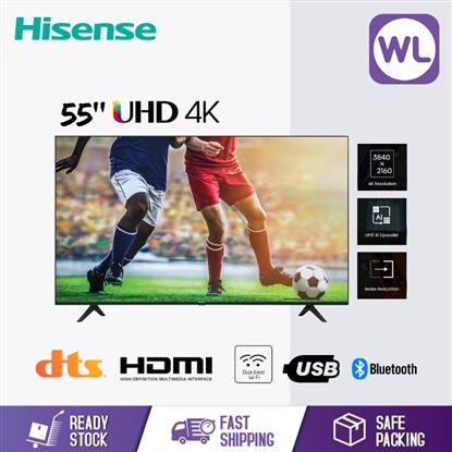 Picture of HISENSE 55'' 4K UHD TV 55A6100G