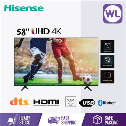 Picture of HISENSE 58'' 4K UHD TV 58A6100G
