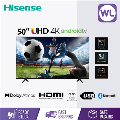 Picture of HISENSE 50'' 4K ANDROID TV 50A6500G
