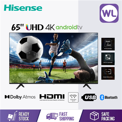 Picture of HISENSE 65'' 4K ANDROID TV 65A6500G