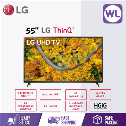 Picture of LG 55'' SMART UHD TV with AI ThinQ® 55UP7550PTC